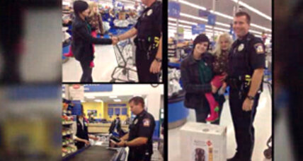 Instead of writing ticket, Michigan cop buys booster seat for girl (+video)