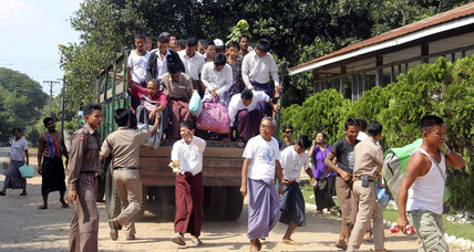 Myanmar, once a pariah, pardons prisoners ahead of regional summit