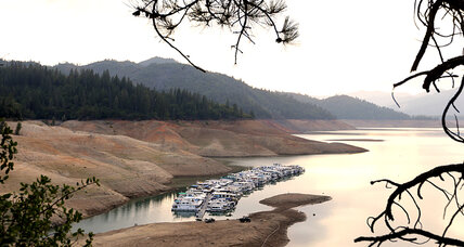California drought: Why less water equals less power