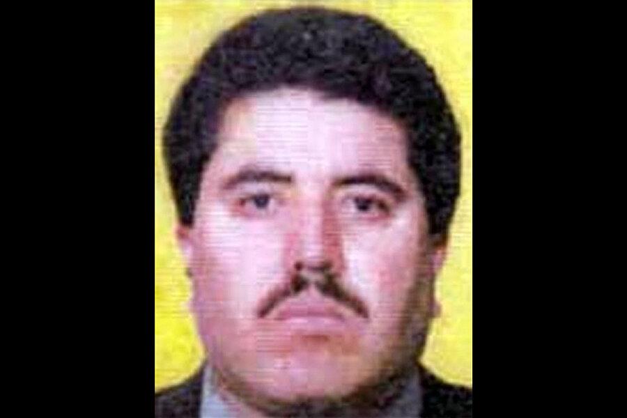 Mexico Captures Alleged Juarez Drug Cartel Boss Csmonitorcom