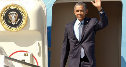 Obama in the Golden State: Will he notice California's spoiled sunshine? (+video)