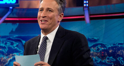 Jon Stewart on Meet the Press: A good idea? (+video)