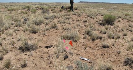 Scientists in Petrified Forest discover ancient village. Who lived there?