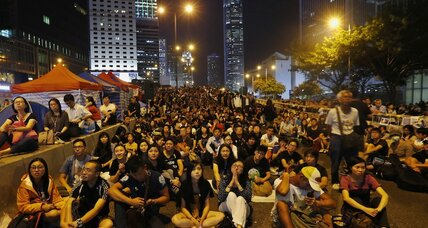 How Hong Kong protests are a big problem for Beijing – even if they fizzle (+video)