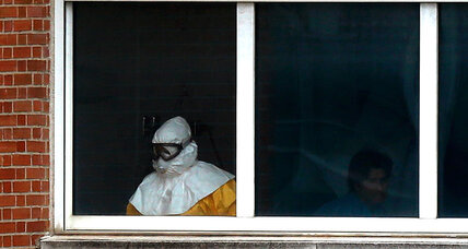In Europe and Africa, steps to curb Ebola range from isolation to a 'police state' (+video)