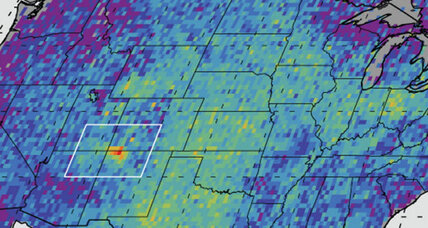 How scientists overlooked a 2,500-square-mile cloud of methane over the Southwest