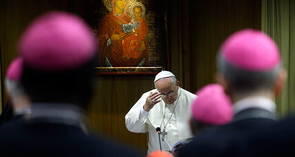 Conservative Catholic bishops push back on Pope Francis' tone on gays (+video)