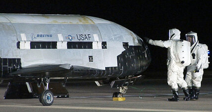 Super-secret space plane could return to Earth this week, Air Force officials say