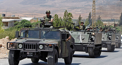 On Islamic State's western front, Lebanon girds for pre-winter attacks (+video)