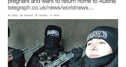What has life been like for the Islamic State 'poster girls'?