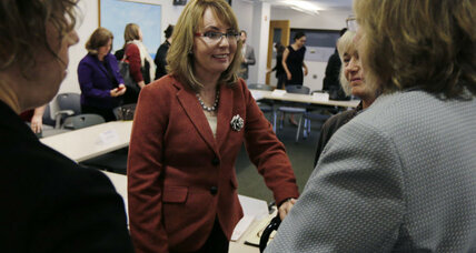 Gabby Giffords launches new gun control campaign, and it's all about women (+video)