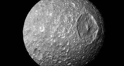 That's no moon. It's a – wait, actually it is a moon. Never mind. (+video)
