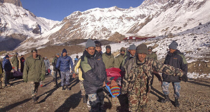 Nepal avalanche: Climate change in action? (+video)
