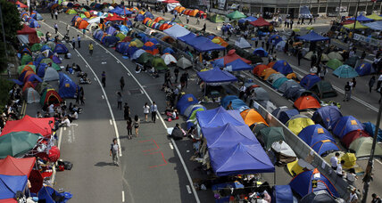 Hong Kong leader confesses that real democracy is 'impossible' (+video)