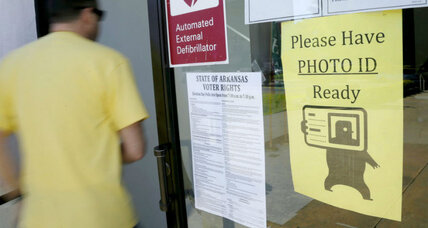 Arkansas Supreme Court becomes latest to strike down voter ID law
