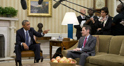 Obama talks 'Ebola czar,' travel ban