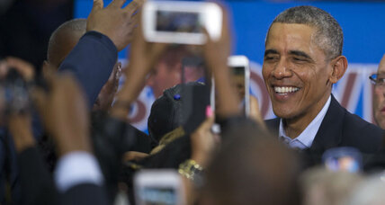 If voters leave an Obama rally, do Facebook users hear about it?