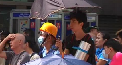 Hong Kong protests: Tensions boil over ahead of Tuesday talks