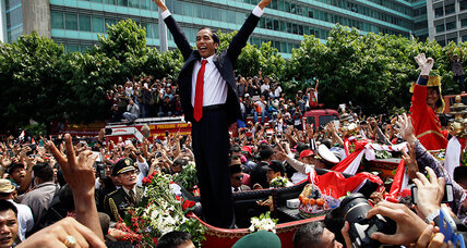 Indonesia's new president is the world's most unlikely political story
