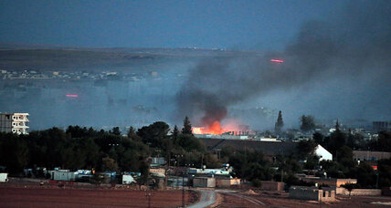Turkey says Iraqi Kurds can fight in Kobane. Could they make a difference? (+video)