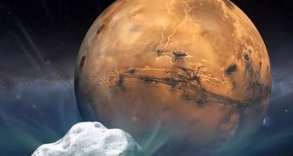 Comet zooms past Mars. What can it teach us? (+video)