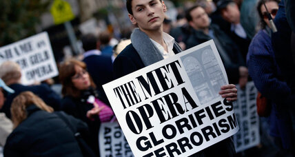 'Death of Klinghoffer' protests: Does opera promote humanity or obscenity? (+video)