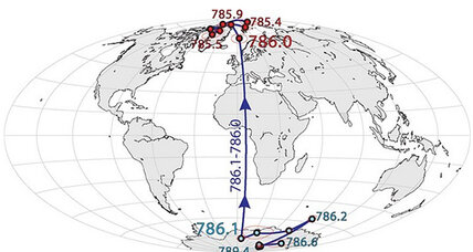 Could Earth's magnetic poles suddenly flip?