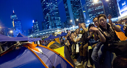 Hong Kong leaders can be 'heroes' or 'villains,' say student protesters (+video)
