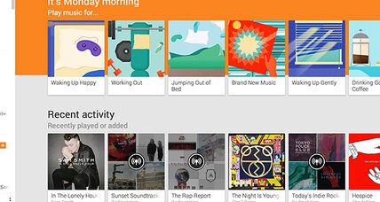 Google's Play Music creates playlist based on user's mood