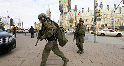 Ottawa parliament shooting: What are Canada's gun laws? (+video)