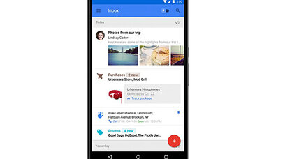 Google unveils sleek new email assistant