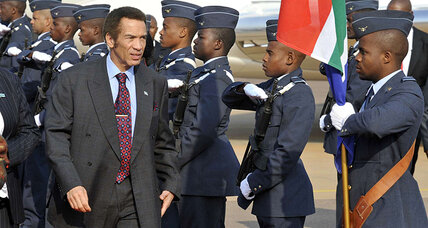 Why Botswana's 'pilot president' fans fears of turbulence ahead