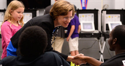 Could Democrat Michelle Nunn actually win Georgia Senate race? (+video)