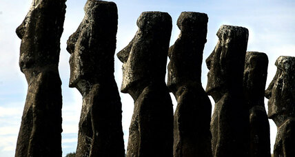 Did ancient Easter Islanders have friends from afar? Yes, say scientists.