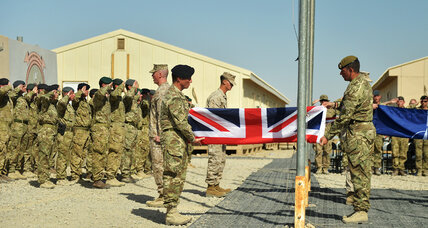 British troop exit from Afghanistan stirs questions at home over mission