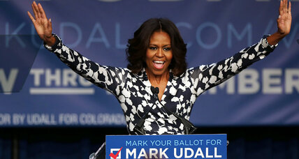 Michelle Obama to blacks: Vote, then eat fried chicken. Is that racist?