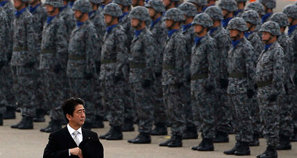 PM Abe sees opening to replace Japan's 'comfort women' apology (+video)