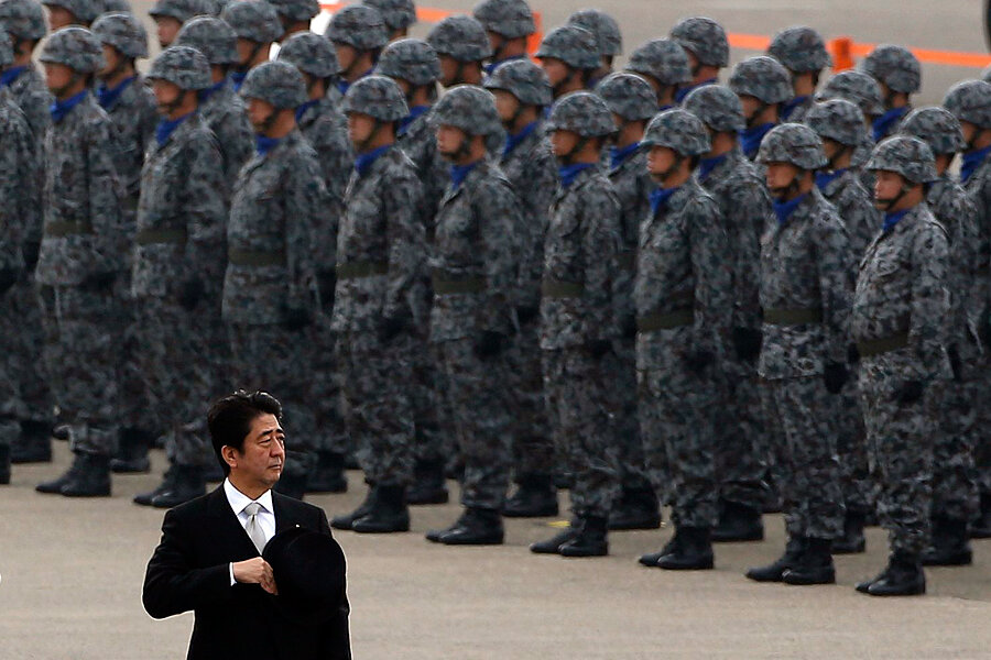 PM Abe sees opening to replace Japan's 'comfort women