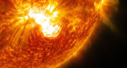 Monster solar flare: Why is the sun acting up now?