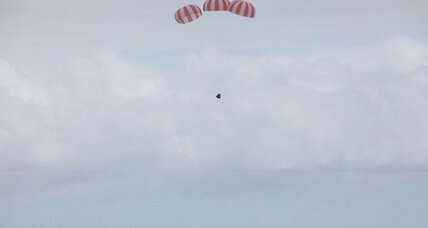 SpaceX Dragon capsule splashes down in Pacific (+video)