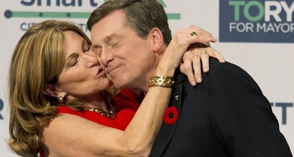 Toronto elects new mayor, says 'no thanks' to Rob Ford's brother (+video)