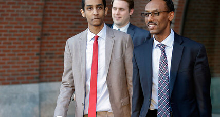 Boston bombing suspect's friend found guilty of lying to investigators