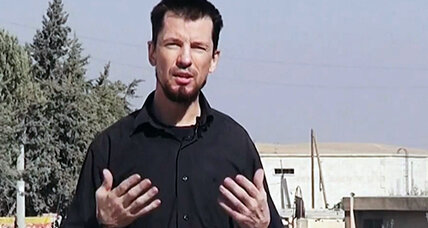 Captive John Cantlie is a propaganda prop for Islamic State