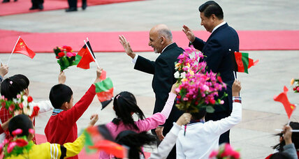 Afghanistan: Out with NATO, in with China?