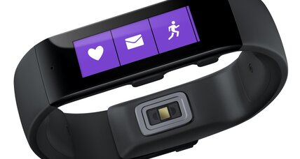 Microsoft Band fitness tracker plays well with iPhone, Android
