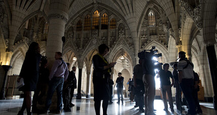 Rattled by Ottawa shooting, Canada to broaden powers of spy agency