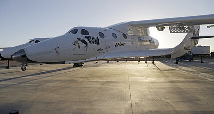 Virgin Galactic SpaceShipTwo crashes in desert. Here's what we know. (+video)