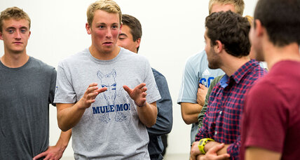 In battle to stop sexual assault, young men emerge as allies (+video)