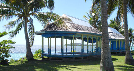 Samoa's architects look to the past to boost climate resilience