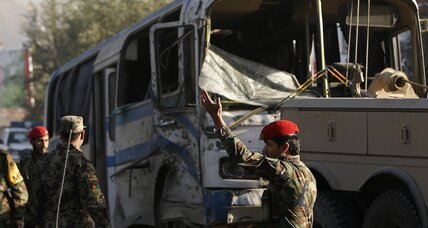 Taliban answer US-Afghan security pact with suicide bombing in Kabul (+video)